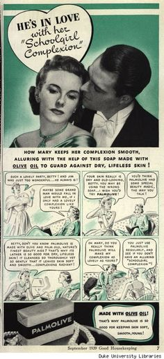 Skin Deep: Use that soap lady, or be alone the rest of your days. Good Housekeeping magazine. September, 1939.