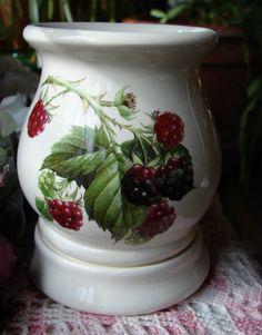 Black Raspberries Electric Tart Burner/Warmer by birdlandparadis, $25.00