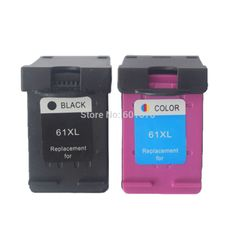 Pas cher 2 PK ( noir et Tri   couleur ) pour HP 61 cartouche d'encre cartouche d'imprimante pour HP J110a J210a J310a J410a 1000 2000 1510 2540 4500 2600, Acheter  Cartouches d'encre de qualité directement des fournisseurs de Chine:                                  Les catégories de produits: cartouche d'encre