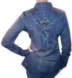 ROAR Ivey Lace Embroidered Long Sleeve Womens Woven Shirt $89.99