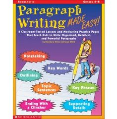 Paragraph writing grades 2 4 teacher resource book evan moor paragraph writing made easy fandeluxe Images