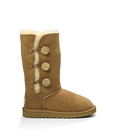 The Bailey Button Triplet for Kids makes a statement, taking the Bailey Button silhouette to new heights. Available at UGGAustralia.com