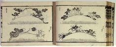 Hokusai-Comb designs. If these were ever made, I'd love to see them!