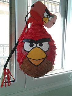 One of the Angry Birds.....made for a birthday boy
