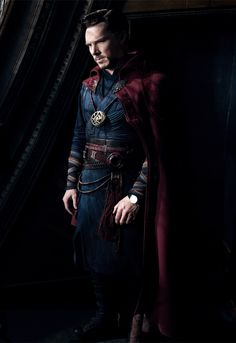 Black&Blue — Benedict Cumberatch - Doctor Strange (2016)