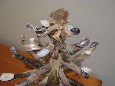 Fake-It Frugal: My Heather Inn: Seaside Driftwood Christmas Tree