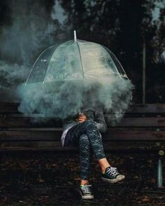 Image discovered by FX. Find images and videos about photography, smoke and umbrella on We Heart It - the app to get lost in what you love. Creative Photography, Portrait Photography, Vsco Photography Inspiration, Photography Ideas, Magical Photography, Photography Basics, Modern Photography, Nature Photography, Wedding Photography