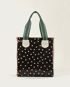 Consuela - Polka Dot Black Classic Tote, Legacy Collection, $96.00