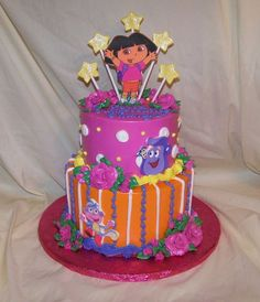Dora  on Cake Central
