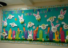 Show and Tell Tuesday - Spring Bulletin Boards