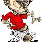 Caricature of Wayne Rooney!