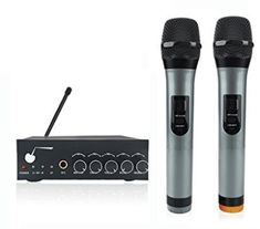 ARCHEER VHF Bluetooth Wireless Microphone System Dual Channel Handheld Microphone Professional Karaoke Singing Machine DJ Mixer for Smart Phone /iPad /PC/Tablet and Other Bluetooth-enable Devices Look Good Feel Good, Karaoke, Musical Instruments, Bluetooth, Singing, Smartphone, Top 14, Channel, Christmas Presents