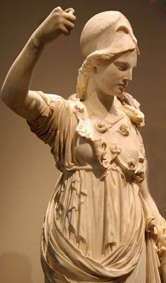 statue of the Goddess Athena - Helenistic period