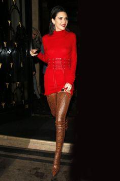 Kendall Jenner #PFW #streetstyle #Paris