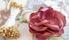Craftingeek*: Cómo hacer flores de tela con Estefanía García - Guestpost