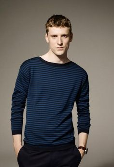 British Model George Barnett for Lacoste Men Spring Summer 2012 Lookbook