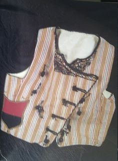 Traditional men's vest from Cyprus, ca. early 20th century.