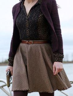 Aw, I do love that skirt!