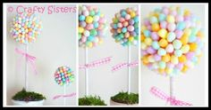 DIY Jellybean Flowers Tutorial Lets Play, Flower Tutorial, Jelly Beans, Let It Be, Crafty, Holidays, Flowers, Diy, Red Dates