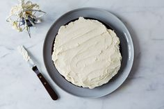 The Easiest Swiss Buttercream You'll Ever Make with egg white and sugar heated on stove (+ Meringue 101)  on Food52