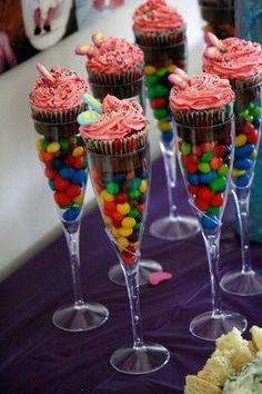 Cupcakes+en+copas