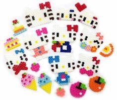 Hello Kitty perler beads
