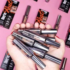 Makeup trends come & go, but gorgeous lashes are always in!  Who uses they're real! mascara for bold, dramatic lashes!?
