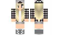 minecraft skin Cool-Girl Find it with our new Android Minecraft Skins App: https://play.google.com/store/apps/details?id=studio.kactus.girlskins