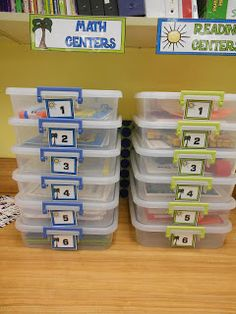 Math Centers | Tales from Outside the Classroom: Math Centers