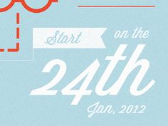 Some typography from a new poster for our upcoming site launch.