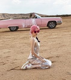 Grimes is the face of Stella McCartney's new fragrance 'POP'