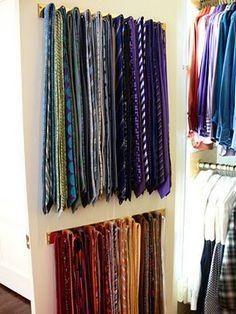 organizando gravatas