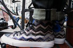 Fall 2011 Missoni for Converse Chuck Taylor All Star - Samantha would love these