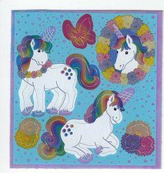 **RARE** MAXI VELLUM PRESENTS PRESENT GIFT Sandylion Stickers 2 SHEETS