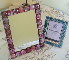 1000 images about mirror craft on pinterest mirror for Dollar store mirror craft
