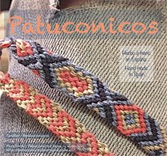 Friendship bracelet Pulseras de la amistad de nudos de macrame Patuconicos