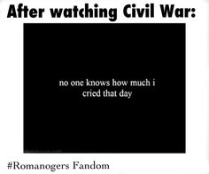 And everyone else! It was an emotionally crippling movie people...