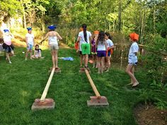 Twelve kids. Nine challenges. Four hours. One Survivor! Yes, the girls had to vote each other out. And were great sports about it, a...