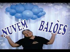 Como Fazer Nuvens de Bexiga - Balloons Clouds - YouTube