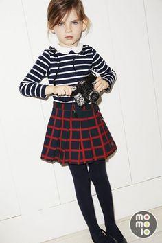 Petit Bateau girl look Winter 14/15