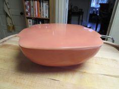 VTG Pyrex Rose Pink Hostess Dish RARE 525B-025