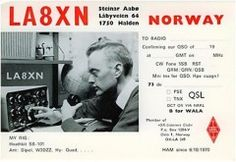 QSL Silent Key but very active in many radio--He also worked with local radio and was the first who started this in 1971 to add more photos here from the time More Photos, Ham, Norway, Memes, Hams, Meme