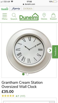Clock, Wall, Kitchen, Decor, Watch, Cuisine, Kitchens, Walls, Decorating