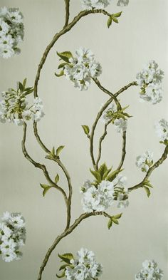 Orchard Blossom | Osborne & Little wallpaper