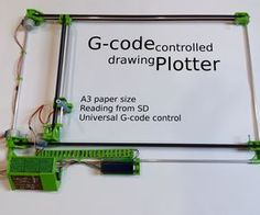 Welcome to my Instructable!Please, if you like it vote for me in the contest!Here I'll show you how to make 2 axis, gcode controlled drawing plotter.I've already made a delta 3D printer which is awesome, the only thing that wasn't made by me was the Arduino program. This program was very long and complicated, so I've downloaded it from the Internet. I've started to think if I am able to also make it myself. But why should I start with something so hard, firstly let's make something easier…