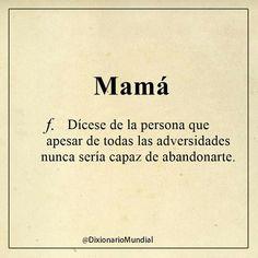 Madre siempre!!!