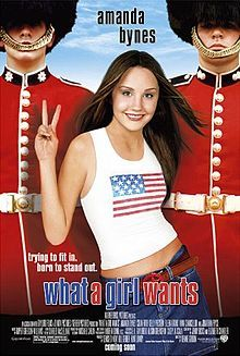What a Girl Wants (film). What a Girl Wants is a 2003 film starring Amanda Bynes, Colin Firth, Kelly Preston and Oliver James. Directed by Dennie Gordon, the film is a remake of the 1958 film, The Reluctant Debutante which had a screenplay by William Douglas-Home, based on his play of the same name.