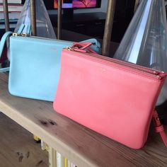 Two Céline Trios are better than one. Which color is your favorite? #twobagtuesday