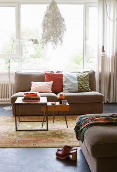 Interior vintage e inspiración nórdica