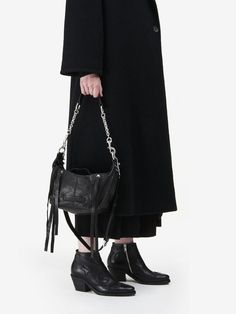 McQ Loveless Mini Hobo Bag
